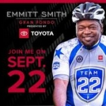 Emmitt Smith's 3rd Annual Gran Fondo Saturday in Frisco cancelled due to weather!