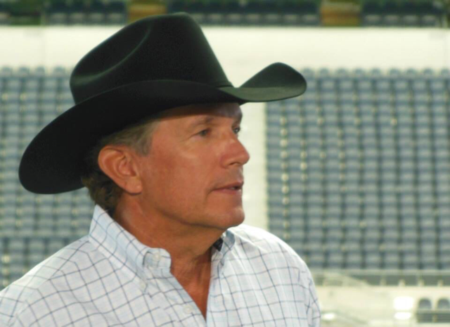 George Strait Will Drop The Puck Thursday Night to Open The Dallas Stars Season!