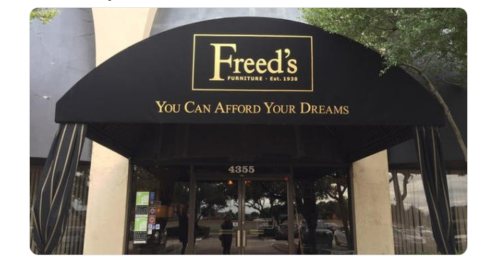 Freedu0027s Furniture Closing After 80 Years | KPLX FM