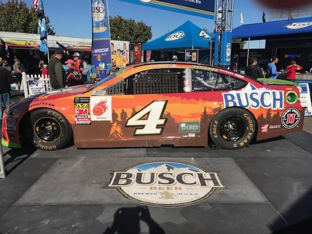 Nascar Kevin Harvick Stiffly Penalized 40 Points After Breaking