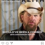 Toby Keith Re-Releasing His Debut Album To Mark It's 25th Anniversary!