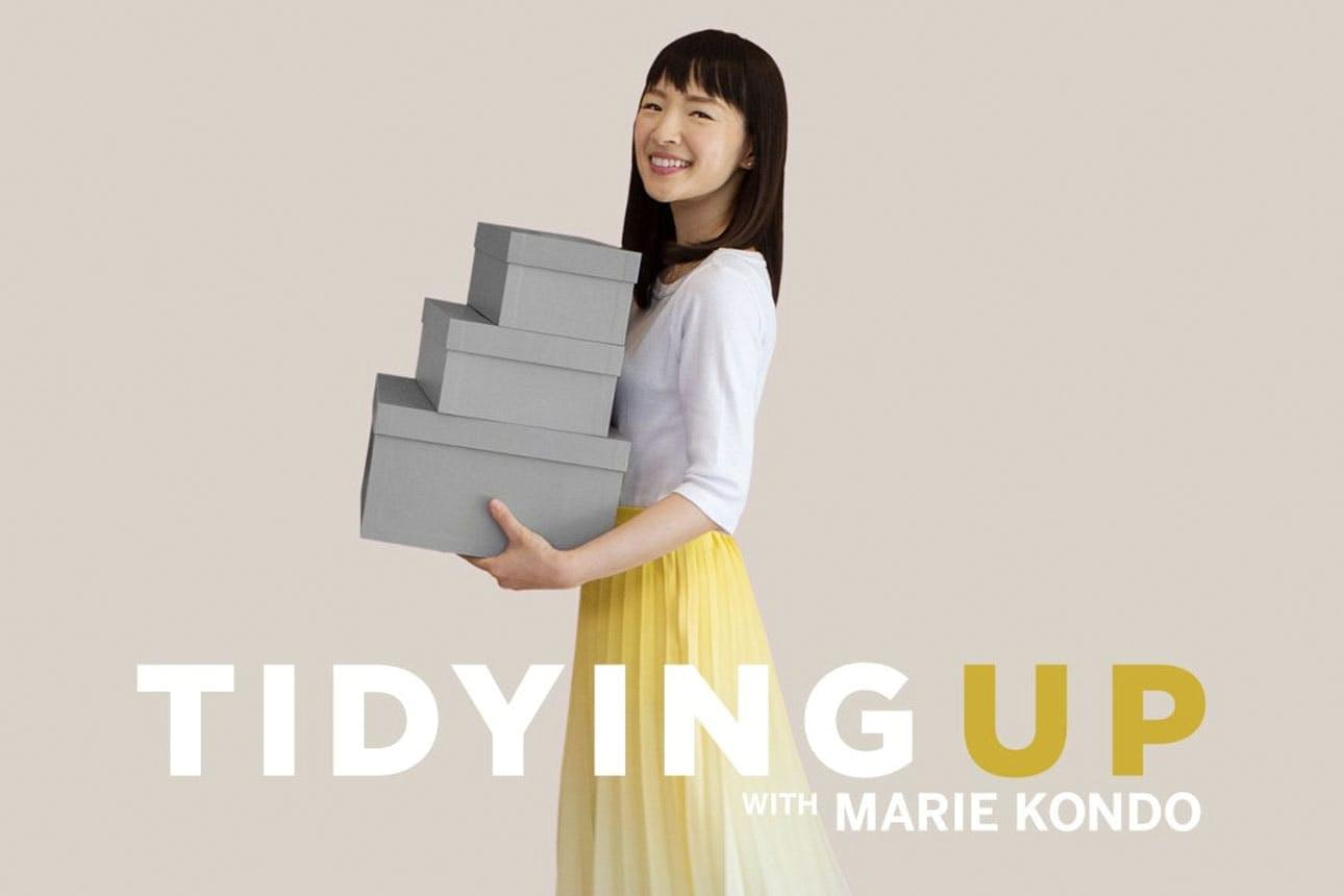 Tidying Up with Marie Kondo is sweeping the nation