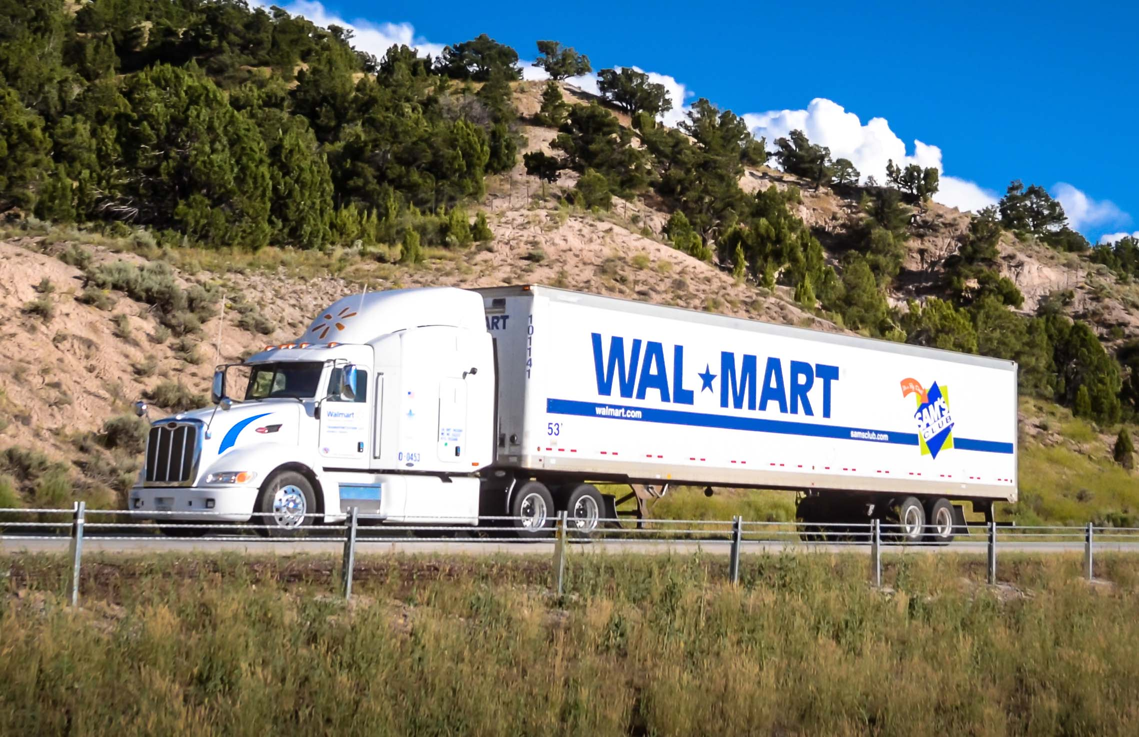 Walmart looking for truck drivers.  Increases pay to nearly 90K a year.