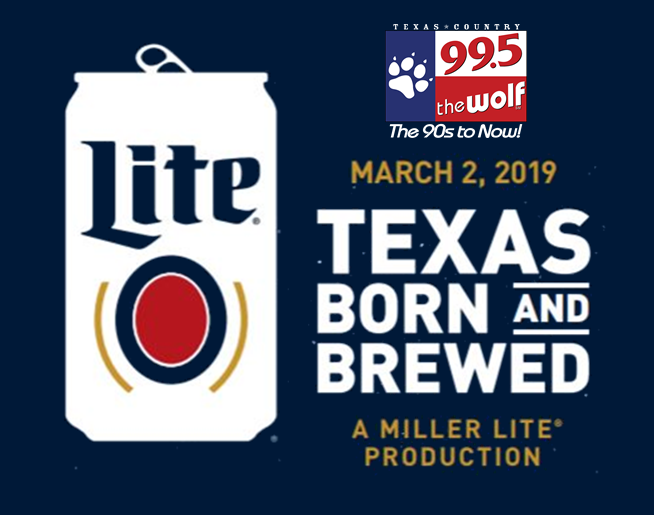 Texas Born and Brewed Ticket Hit | 3.1.19