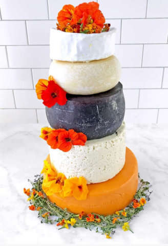Costco is selling a wedding cake made of cheese