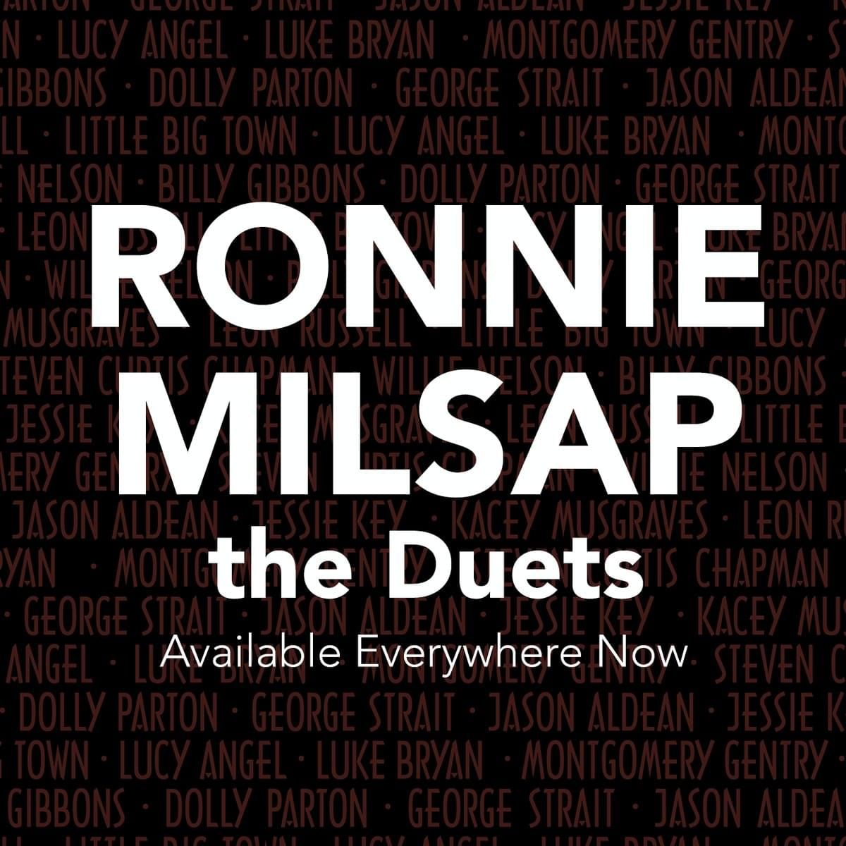 "#10MinutesWith – Hall of Famer Ronnie Milsap Talks About His New Album ""The Duets"""