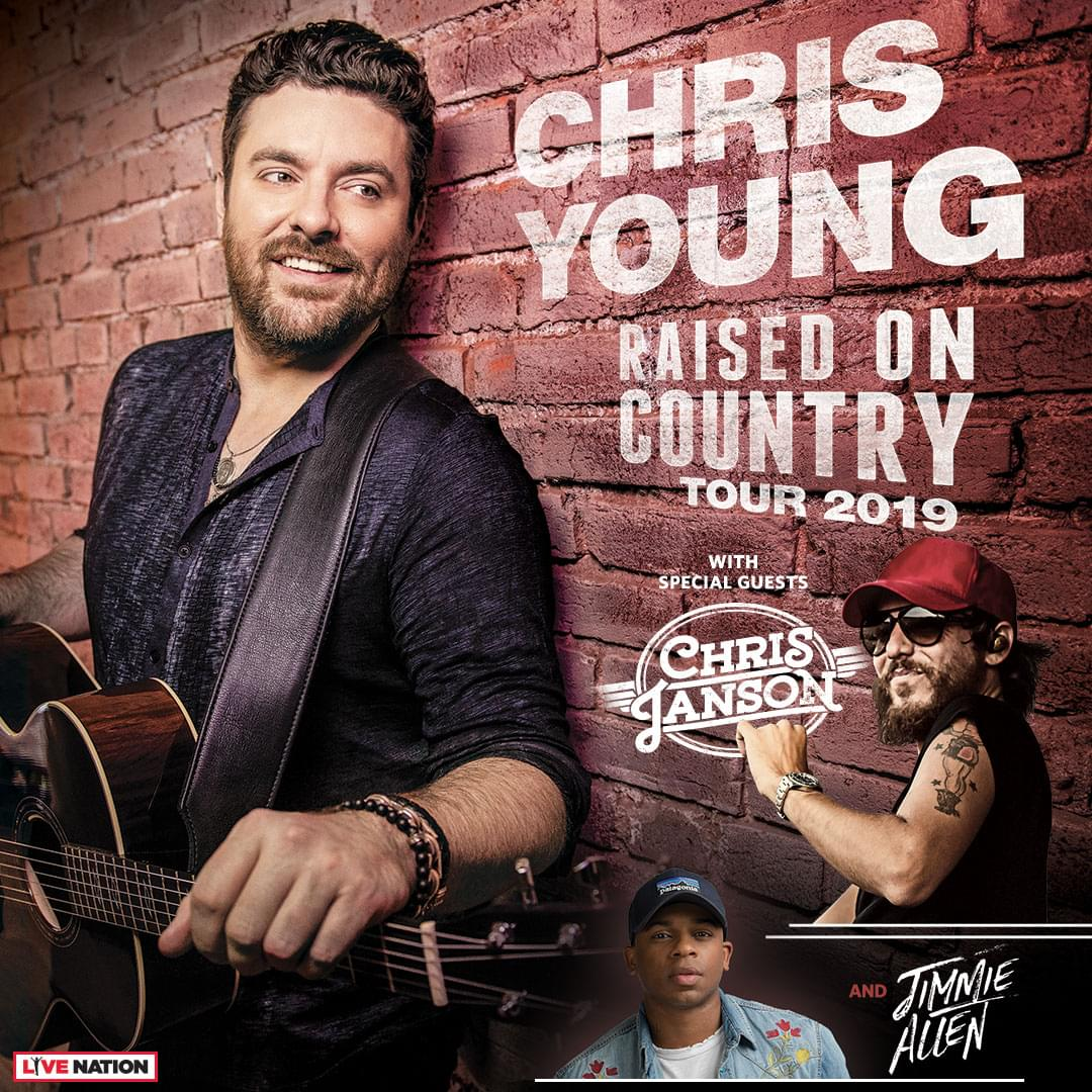 Why Does Chris Young Love Dallas/Ft. Worth So Much? How Can You See Him?