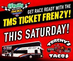 TMS Ticket Frenzy Handing Out NASCAR Tickets Saturday All Over North Texas!