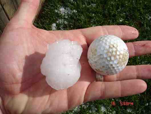 Oh Hail!  Now What Do You Do…