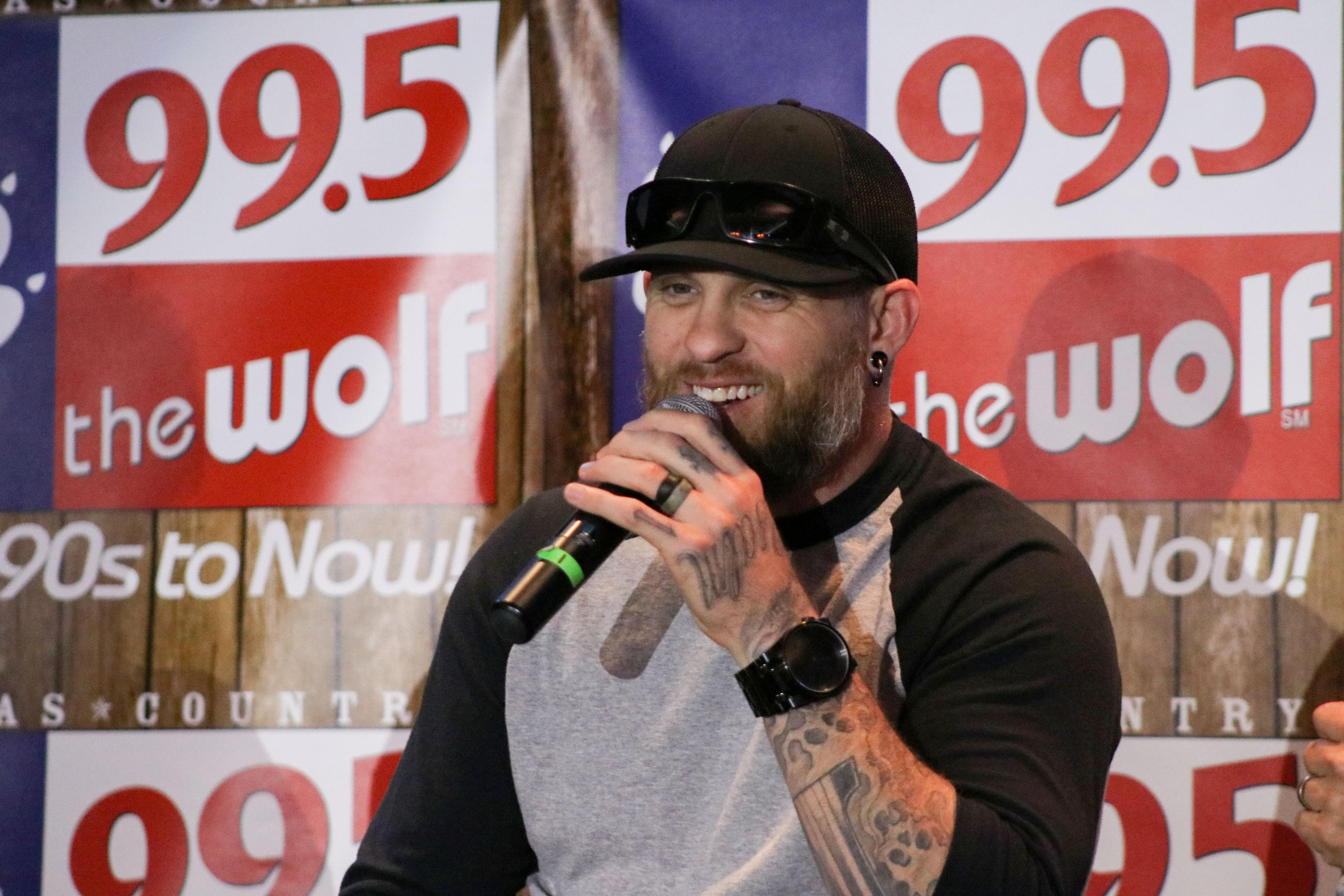 99.5 The Wolf VIP Experience with Brantley Gilbert