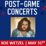 See Koe Wetzel After the Rangers Game!