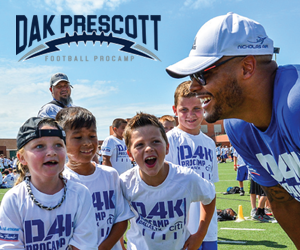 Send Your Kid To Dak's Football ProCamp!