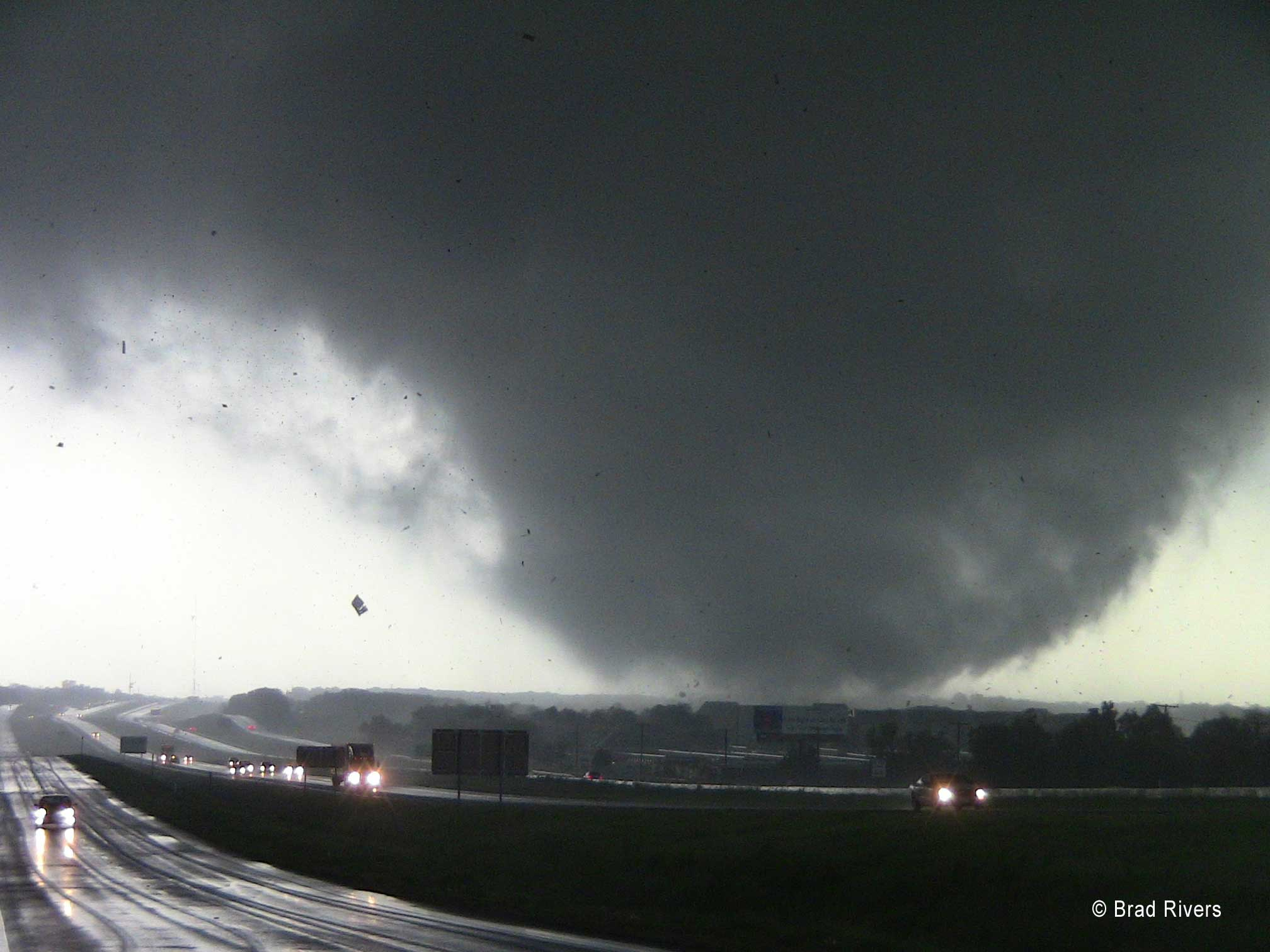 Violent Tornadoes Expected in NW Texas, Panhandle & Oklahoma