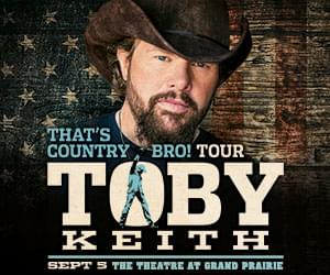 Toby Keith | The Theatre at Grand Prairie | 9.5.19