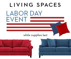Win $500 To Living Spaces!