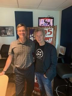 """Rodney Crowell Stops By To Talk With Mark Phillips About His New Album """"Texas"""" Which Comes Out Today!"""