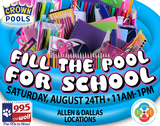 Fill the Pool for School