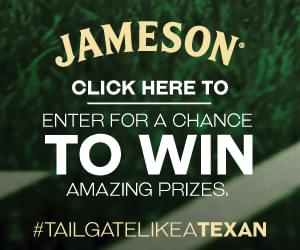 Register to win a Jameson Yeti Cooler