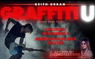 Keith Urban @ American Airlines Center | 11.3.18