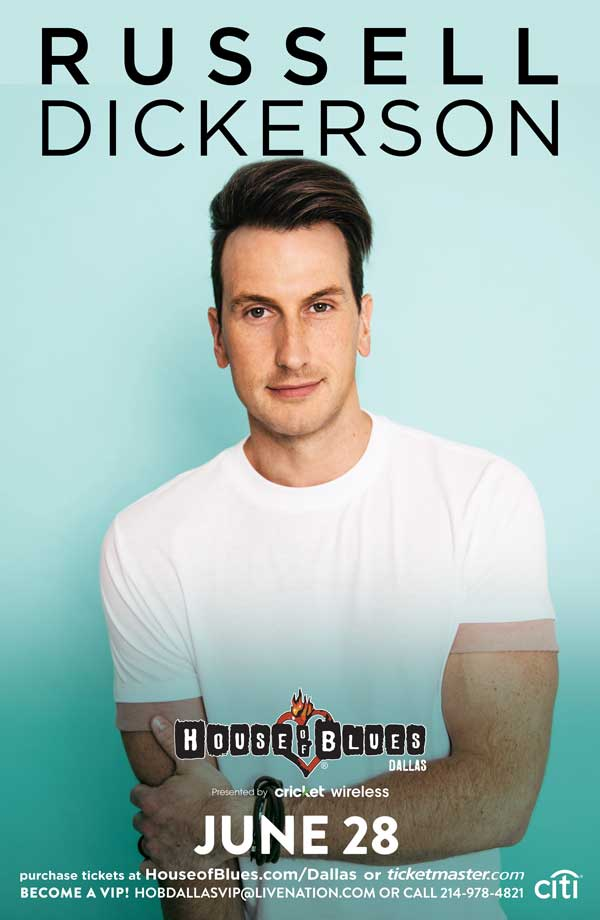 Russell Dickerson Live at House of Blues