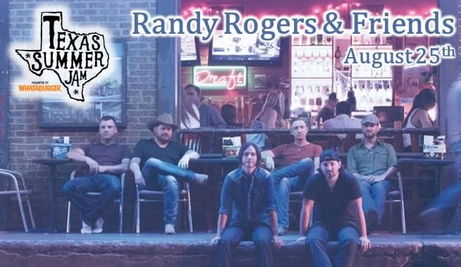 Win Tickets to Texas Summer Jam with Randy Rogers & Friends!