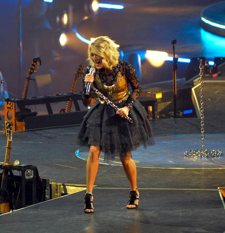 Carrie Underwood Is Filming Sunday Night Football's New Opening