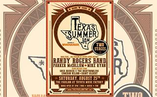 Texas Summer Jam presented by WHATABURGER® with Randy Rogers and Friends