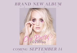 Carrie Underwood's Cry Pretty Album Has A Trailer!
