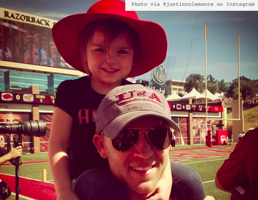Justin Moore Admits To Getting Dragged Off The Field By Head Coach At Daughter's Softball Game —