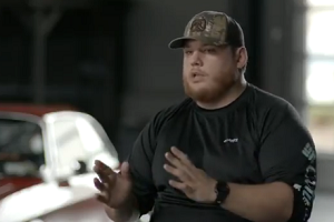 Luke Combs Takes Us Into The Studio –  Behind The Scenes