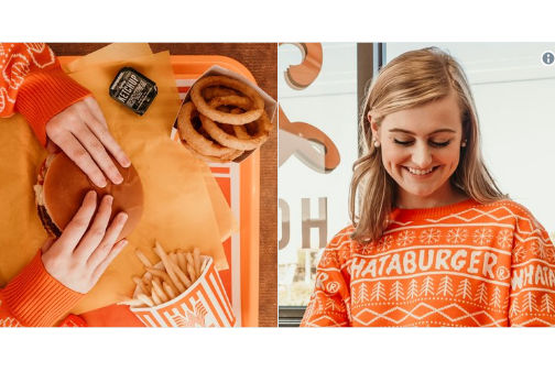 Whataburger Selling Ugly Christmas Sweater