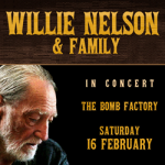 Win Tickets! Willie Nelson | The Bomb Factory | 2.16.19