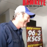 Blake Shelton Plays SPEAK OUT With the KSCS' Hawkeye In The Morning Show