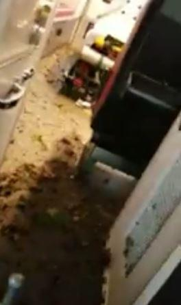 [WATCH] Crazy cell phone footage from inside of an ambulance hit by a tornado. Everyone is ok.