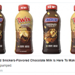 Twix & Snickers Flavored Chocolate Milk Will Hits Stores This Month