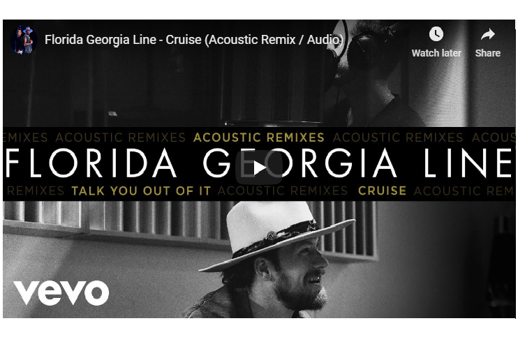 """Florida Georgia Line Release New Acoustic Remix – """"Cruise"""" & """"Talk You Out Of It"""""""