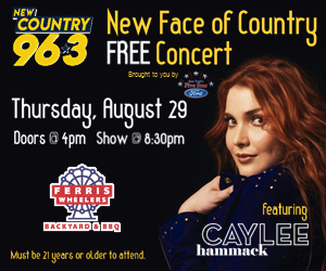 New Face of Country Concert Featuring Caylee Hammack