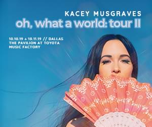 Kacey Musgraves | The Pavilion at Toyota Music Factory