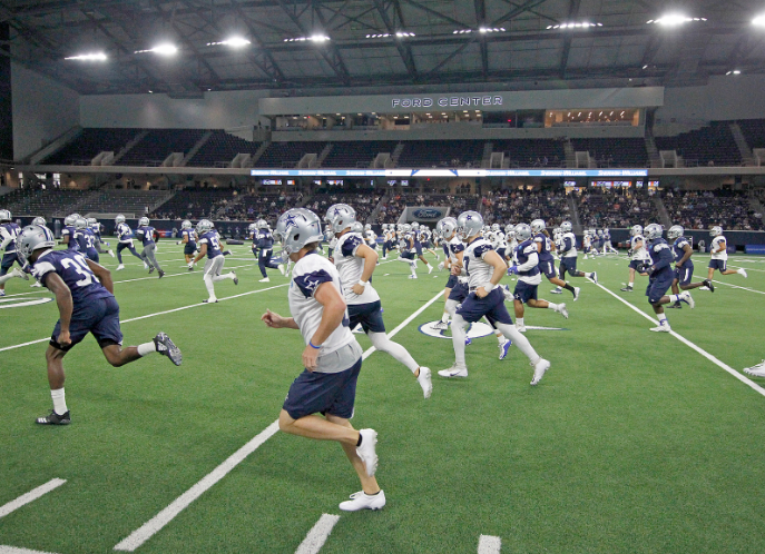 Watch The Dallas Cowboys Practice For Free