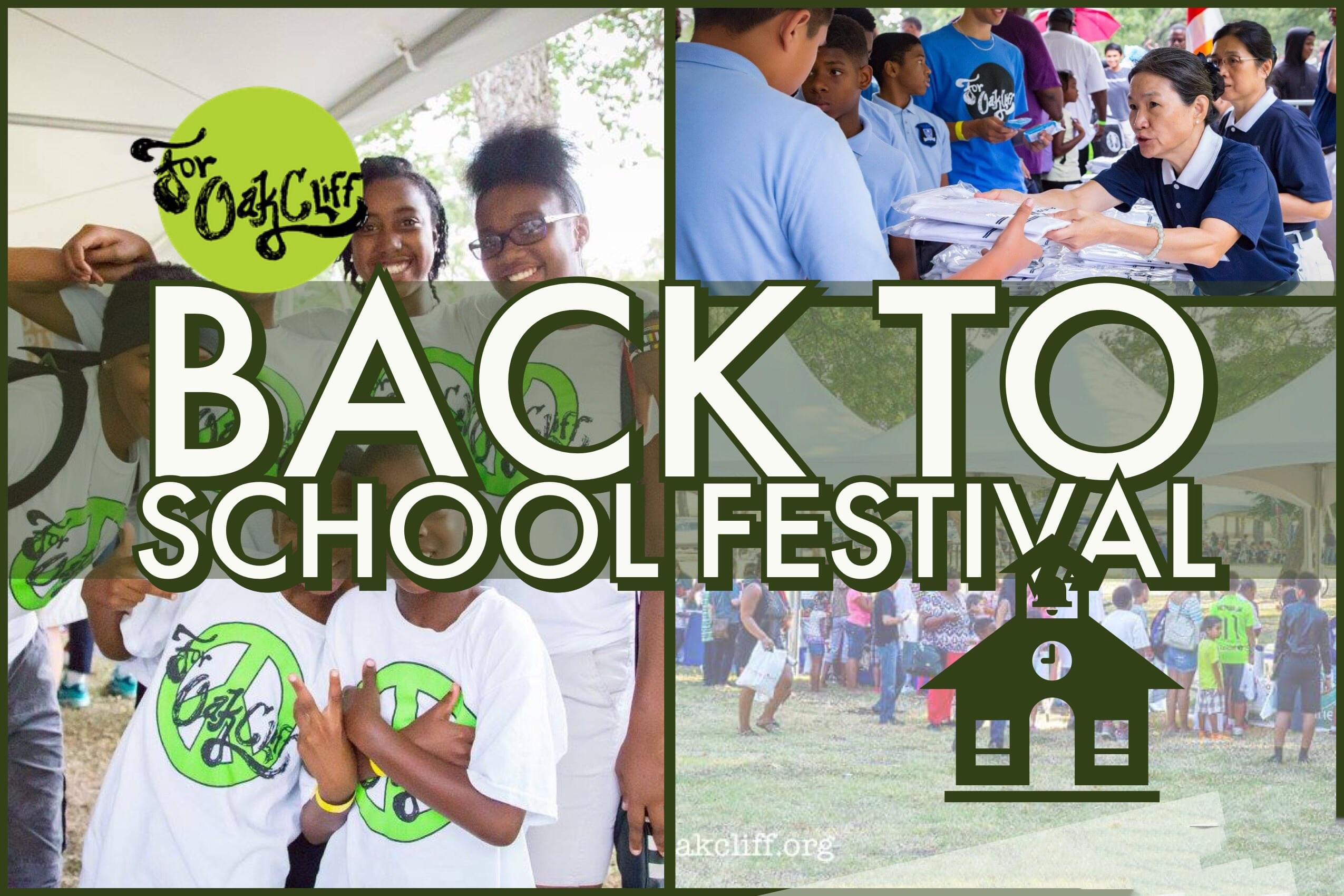 Cards, Supplies For Students at Back to School Festival