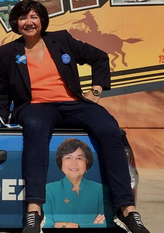 Missing Gun that Once Belonged to Lupe Valdez Found in Property Room