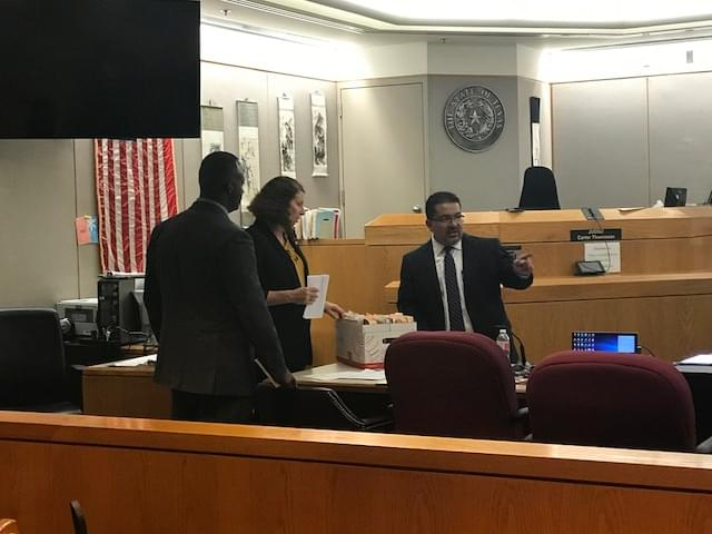 Former Mesquite Police Officer on Trial in Dallas County
