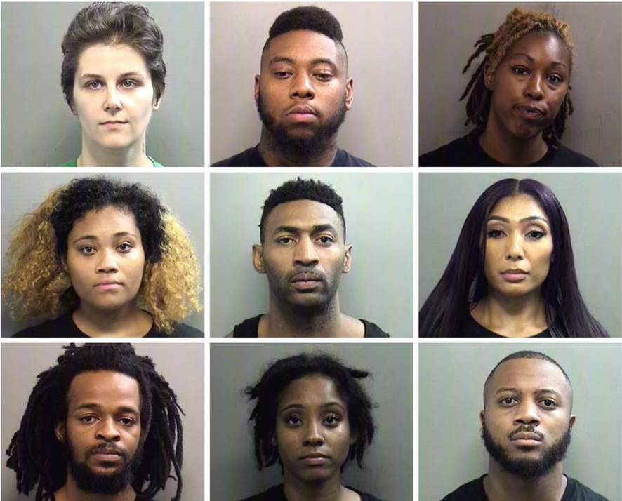 9 Protesters from Botham Jean Rally, Released from Jail with Bond