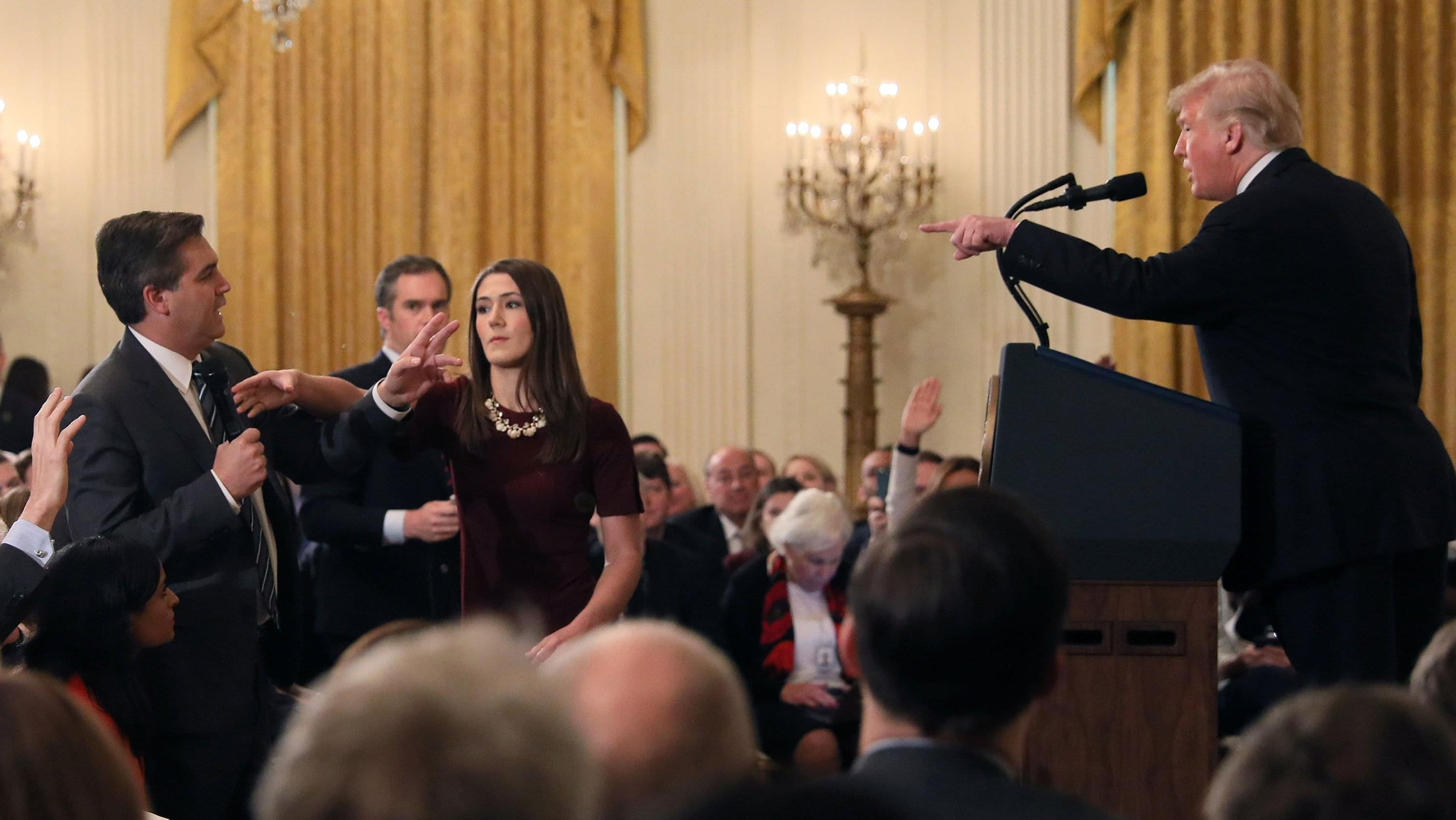 Chris Krok: Trump vs Acosta… How do we Win?