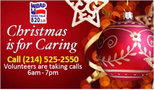 40th Annual Christmas is for Caring on WBAP