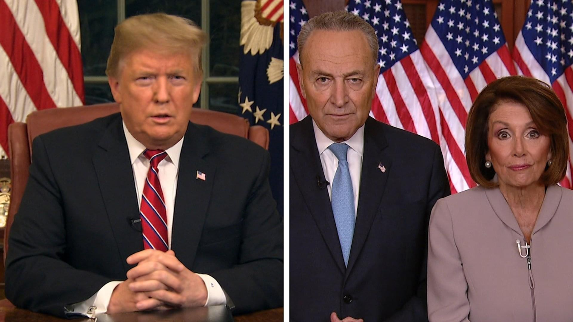 Trump to Declare National Emergency for Border Wall; Democrats to Oppose