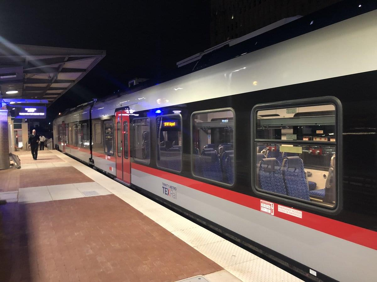 TexRail, Train from Fort Worth to DFW Airport, Opens for Business