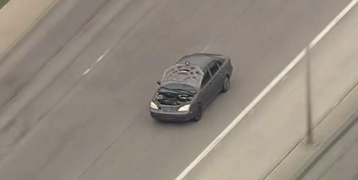 Four Bank Robbery Suspects in Custody following a Police Chase through DFW