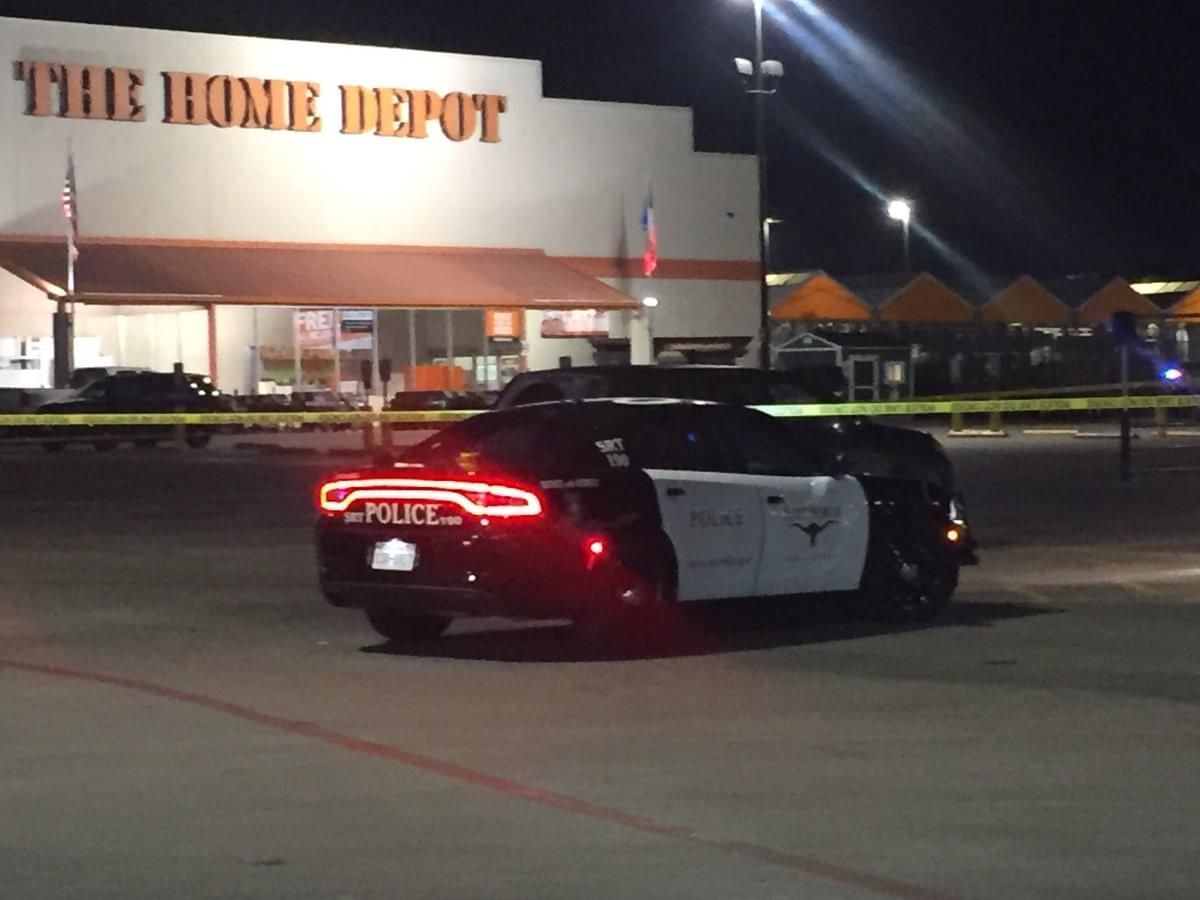 Police Investigate Shooting At Fort Worth Home Depot