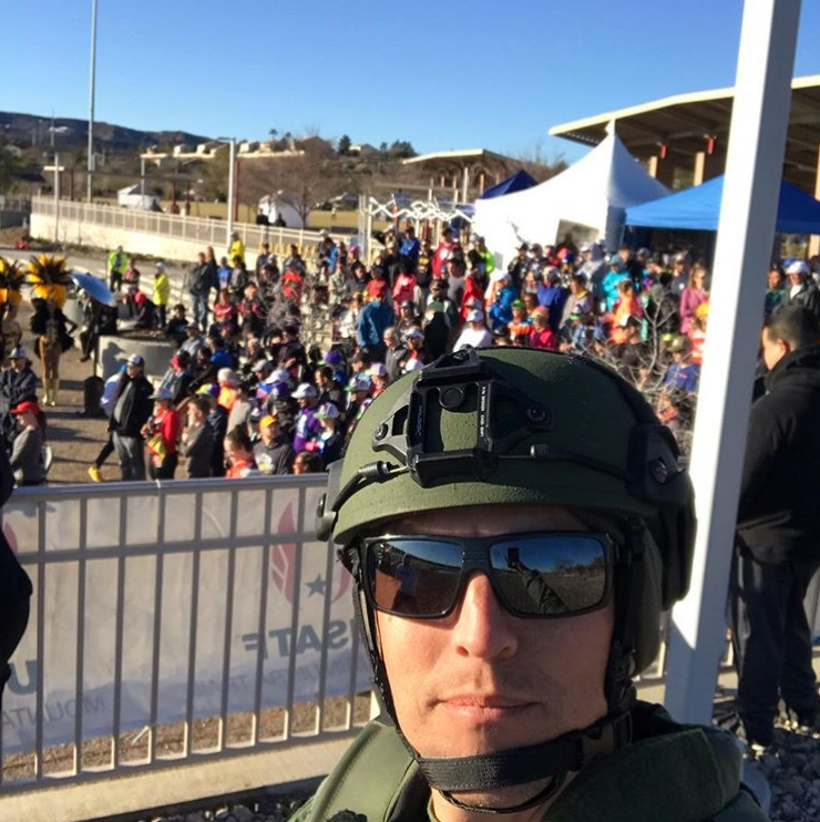 California Police Officer Runs 100 Miles in SWAT Gear for Fallen Richardson Officer
